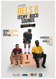 RELS B + Itchy&Buco Sounds @ A CORUÑA