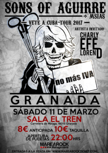 Sons of Aguirre + Charly Efe + Msias