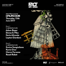 FACT Off Week • Drumcode.