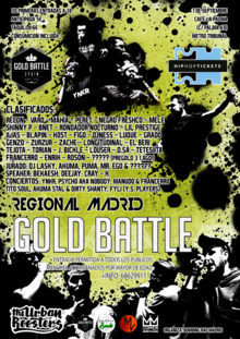 Gold Battle Regional Madrid