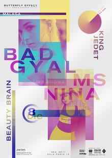 Bad Gyal, Ms Nina, Beauty Brain & King Jedet