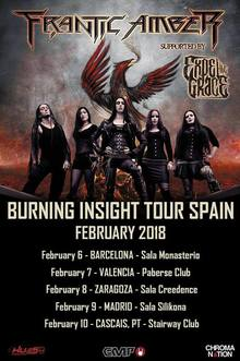 Frantic Amber · Expel The Grace - Zaragoza 2018