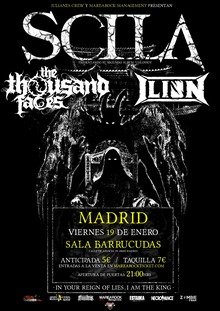 Scila + The Thousand Faces + Artista Invitado
