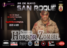SURVIVAL HORROR ZOMBIE LED SAN ROQUE