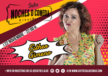 Monólogo ESTHER GIMENO - NOCHES D COMEDIA by Sixties