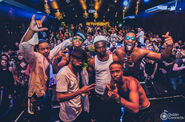 Hypnotic Brass Ensemble en La Catarina (Marbella)