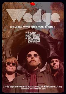 WEDGE + LEWIS & THE STRANGE MAGICS