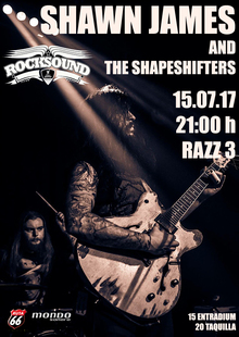 Shawn James & The Shapeshifters en Barcelona