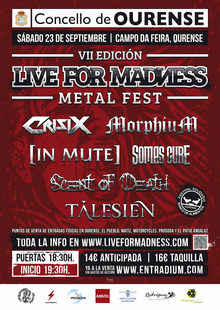 7º Live for Madness Metal Fest