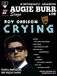 Augie Burr Sings Roy Orbison's Crying