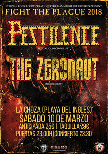 Pestilence + The Zeronaut
