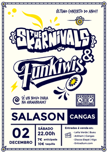 Concerto The Skarnivals + Funkiwi's