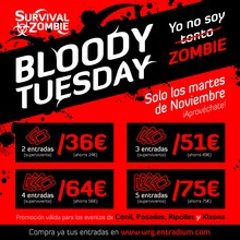 BLOODY TUESDAY: POSADAS/XIXONA/CONIL/RIPOLLET