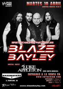 BLAZE BAYLEY + LUKE APPLETON, Barcelona