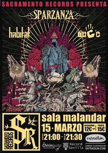 SACRAMENTO RECORDS NIGHT: Sparzanza (SWE) + Habitat + Dugo