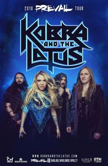 Kobra And The Lotus en Portugalete - 8 de Junio