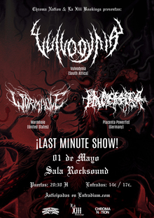 Vulvodynia · Wormhole · Placenta Powerfist - Barcelona 2018
