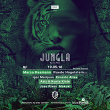 MDC PRESENTS JUNGLA :: MARCO RESMANN - RUEDE HAGELSTEIN - JOSE RIVES - many more
