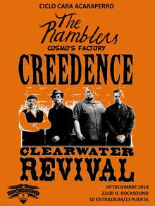 THE RAMBLERS vs. CREEDENCE CLEARWATER REVIVAL